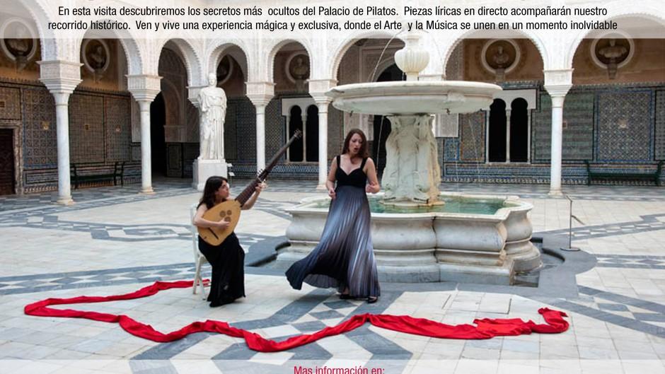 Visita musical el Casa Pilatos opera en Pilatos