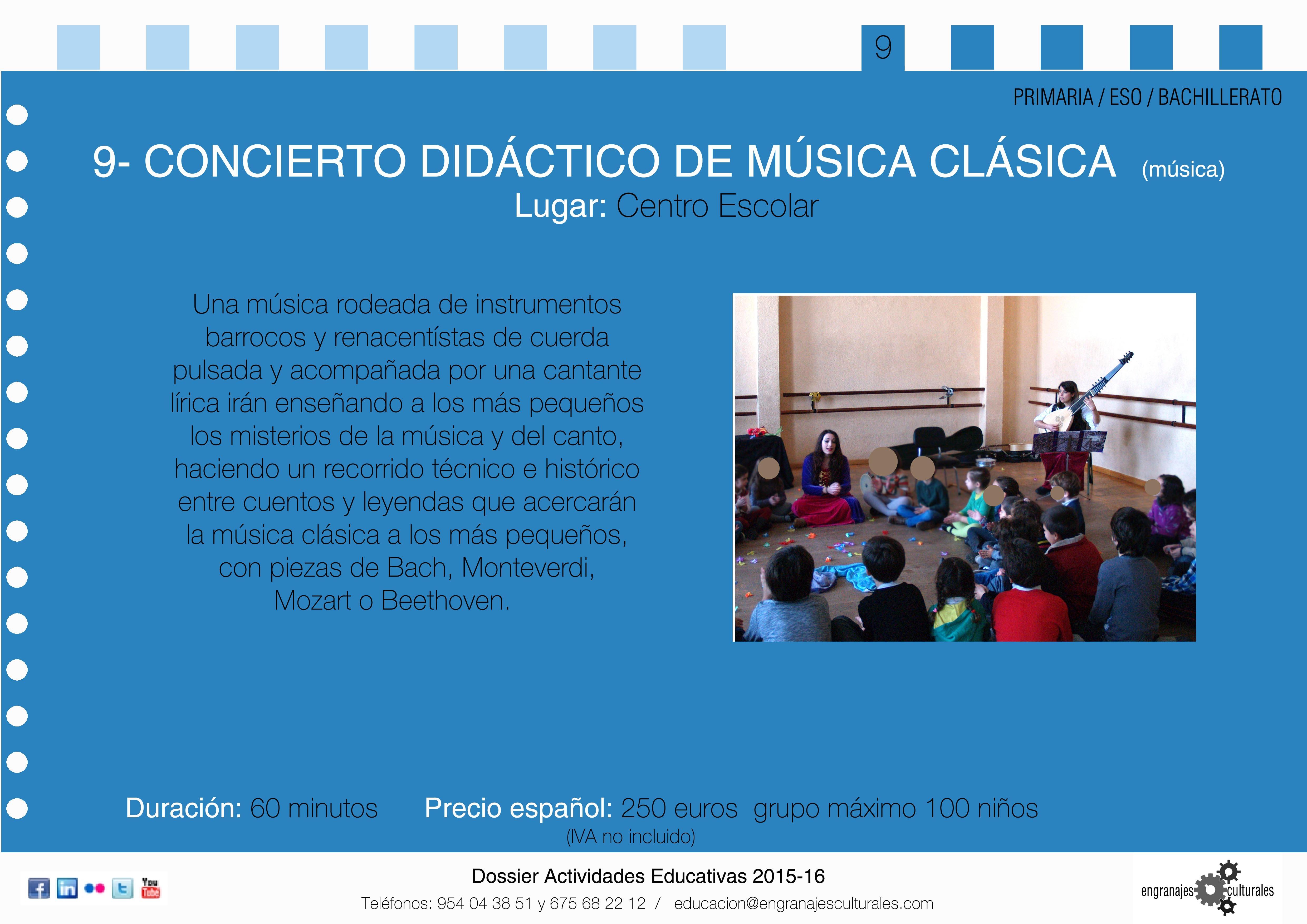 Concierto did ctico de m sica cl sica engranajes for Casa piscitelli musica clasica