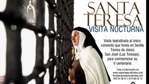 """Visita teatralizada nocturna """"Las Moradas de Santa Teresa"""""""