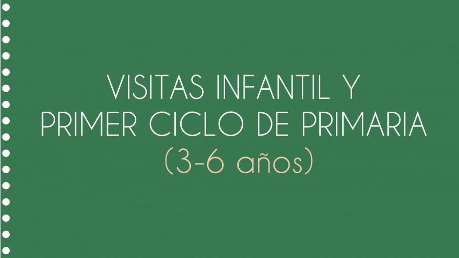 Visitas infantil y primer ciclo de primaria