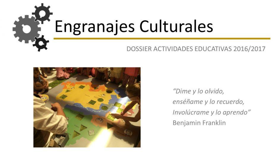 1DOSSIER ACTIVIDADES EDUCATIVAS 16-17