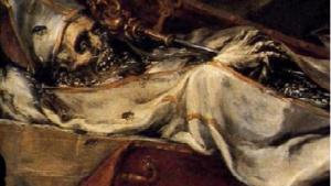 Detalle de Finis Gloriae Mundi, Valdés Leal 2.