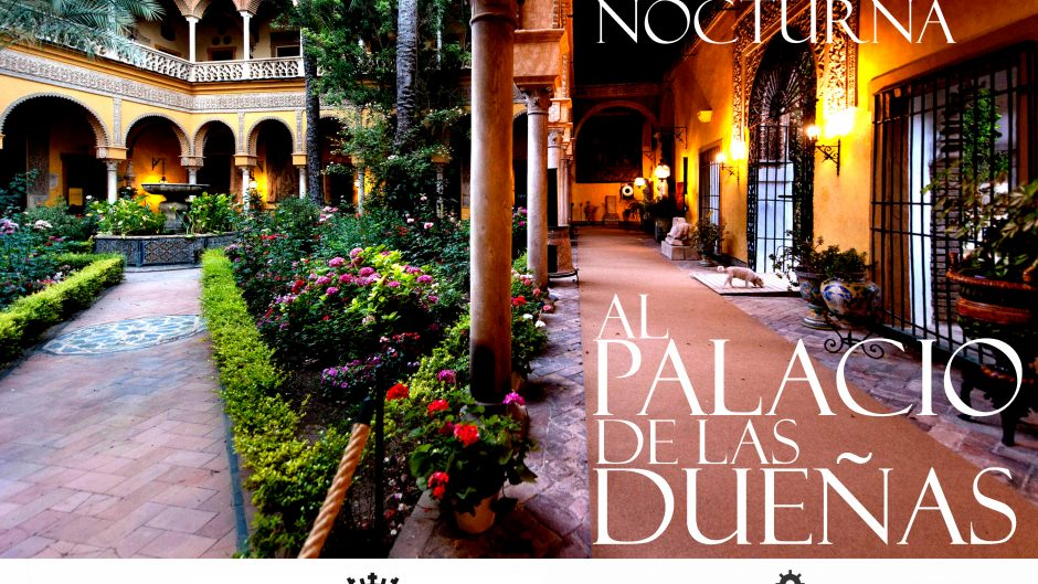 cartel palacio de dueñas visitas nocturnas