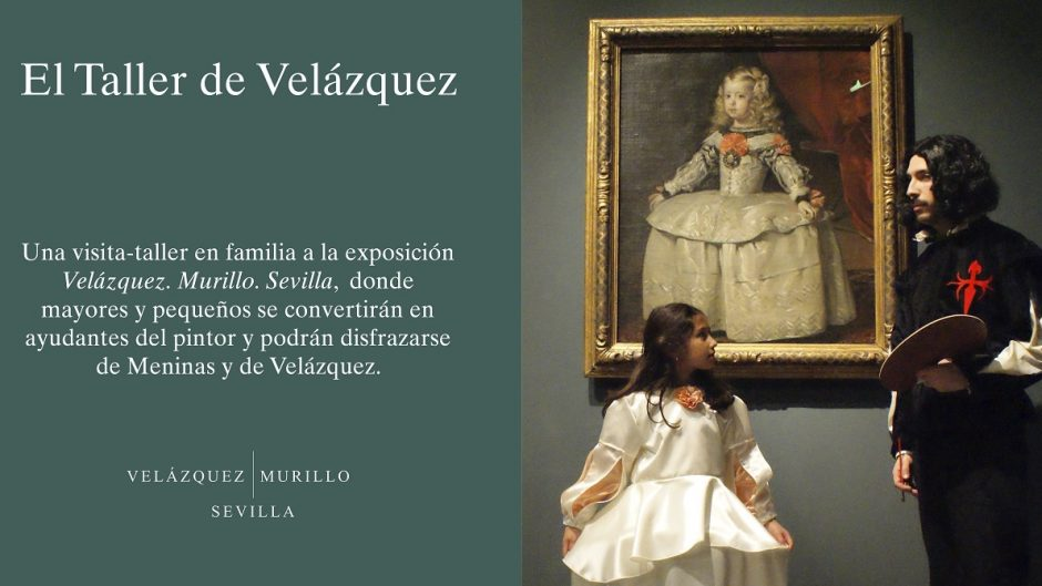 ticketea Cartel Taller de Velázquez Velázquez Murillo Sevilla (2)