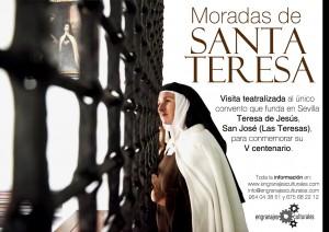 Visita nocturna teatralizada Moradas de Santa Teresa @ Plaza del Cabildo | Sevilla | Andalucía | España