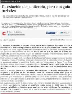 El Correo de Andalucía 23/03/2013