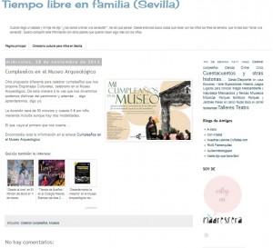 Tiempo libre en familia 28/11/2012