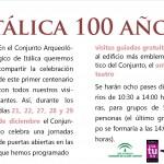 Visita Itálica 100 años