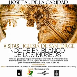 Visita nocturna al Hospital de la Caridad Sevilla