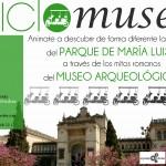 Visita Ciclomuseo, Mitos, plantas y bicis en en Museo Arqueológico y en el Parque de María Luisa