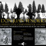 Visita teatralizada de Don Juan Tenorio en el Cementerio de Sevilla