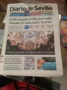 Diario de Sevilla 12/10/2012