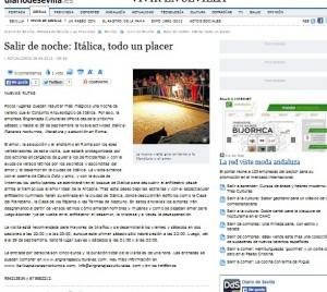 Diario de Sevilla 23/08/2012