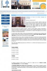 Archidiócesis de Sevilla 24/04/2013
