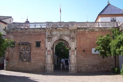 Fachada principal de Casa Pilatos