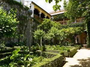 Jardín chico de Casa Pilatos