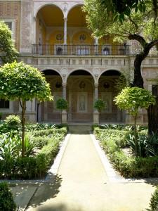 Jardín grande de Casa Pilatos