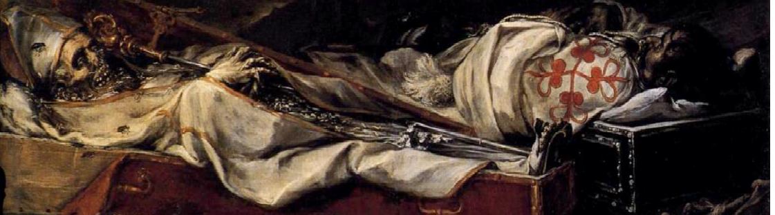 Detalle de Finis Gloriae Mundi, Valdés Leal.