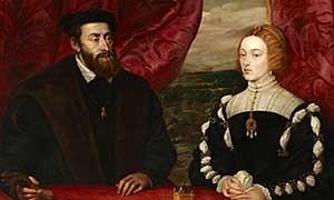 Carlos V e Isabel de Portugal, Tiziano.