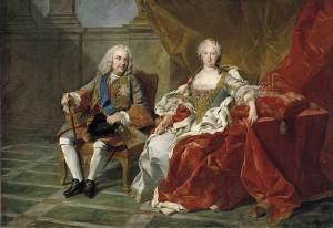 Felipe V e Isabel de Farnesio, Louis Michel van Loo