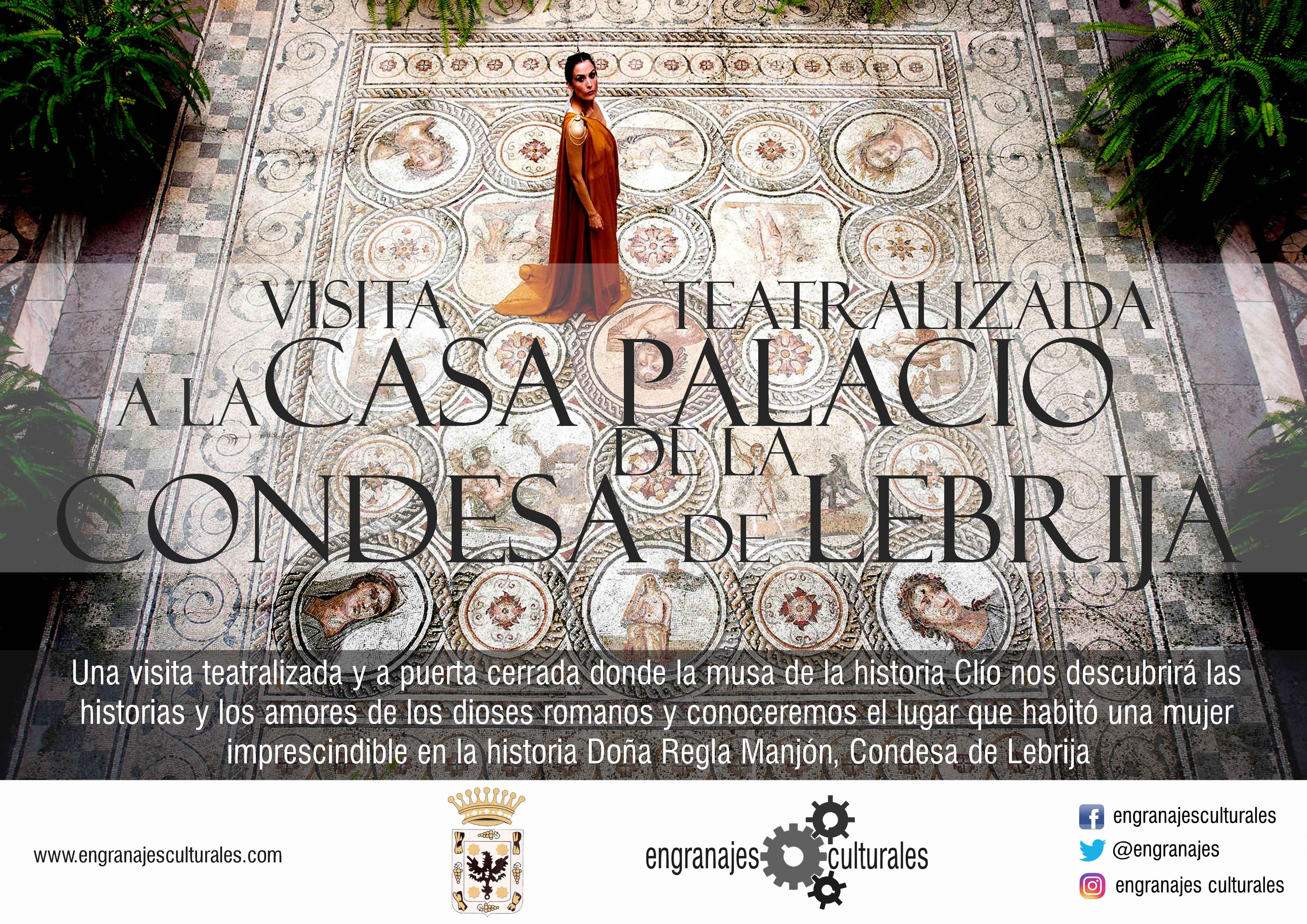 Visita teatralizada al palacio de la condesa de for Alquiler de casas en lebrija sevilla