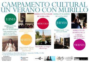 Campamento Cultural. Un Verano con Murillo. Murillo en el Hospital de la Caridad @ Hospital de los Venerables. Fundación Focus | Sevilla | Andalucía | España