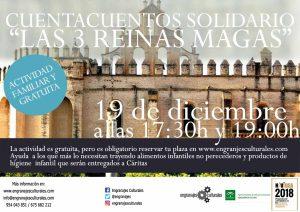 Cuentacuentos Solidario Las 3 Reinas Magas en San Isidoro del Campo @ San Isidoro del Campo