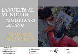 Gymkana nocturna de Magallanes @ Puerta Jerez (junto a la fuente de los poetas de la Generación del 27)