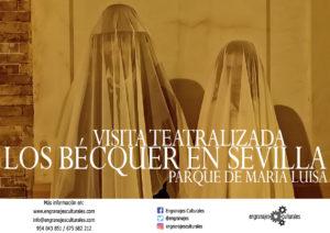 Visita teatralizada: Los Bécquer en Sevilla. Parque de María Luisa