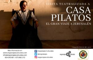 Visita teatralizada a Casa Pilatos: El gran viaje a Jerusalén @ Casa de Pilatos | Sevilla | Andalucía | España